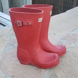 Hunter boots boy or girl